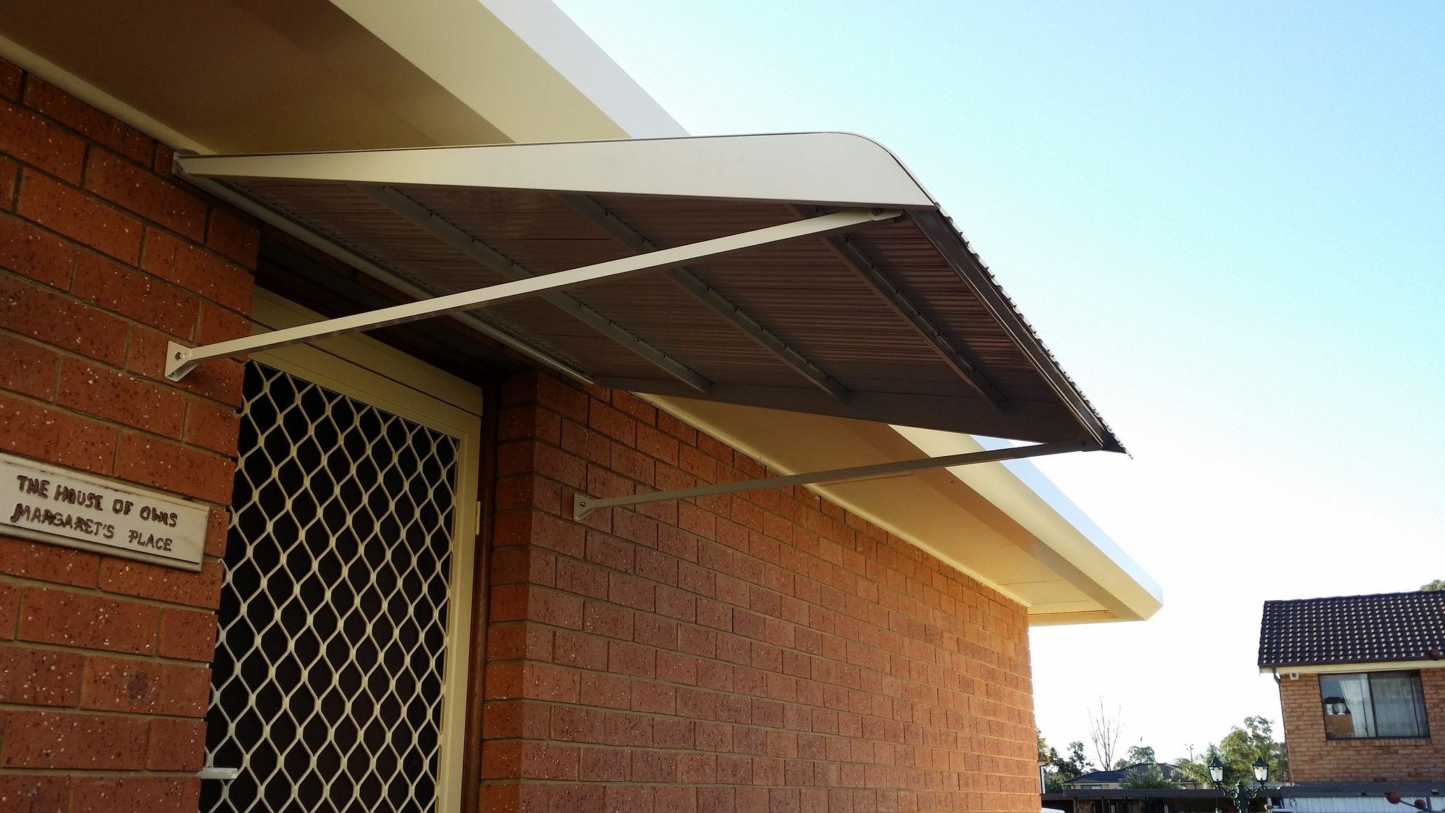 TrusSteel Awning 2