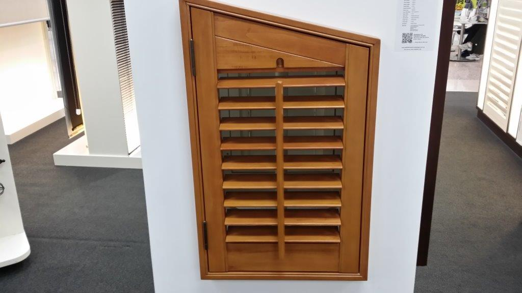 Shaped Plantation Shutters Sydney